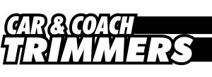 Car and Coach Trimmers Black and White Logo