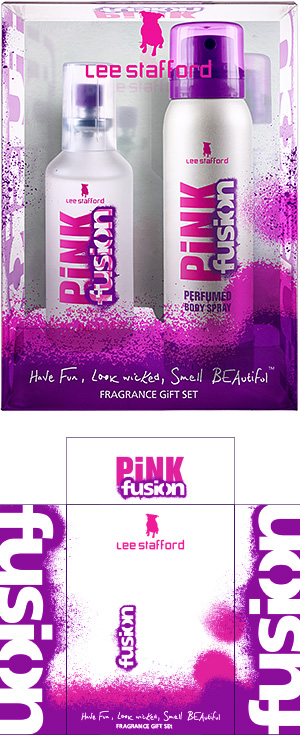 PiNK fusion Christmas Gift Set 2007 design